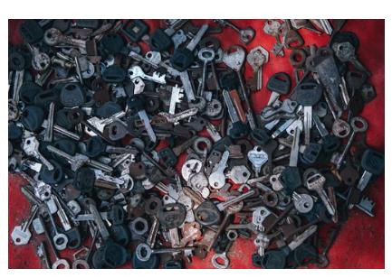 rekey lock, replace lock
